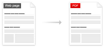 Covert Web Pages To PDF Files Online For Free
