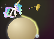 Princess Celestia Space Golf