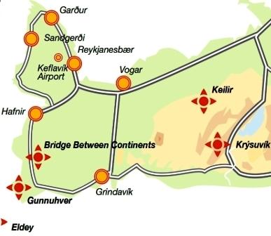 Mapa de Keilir