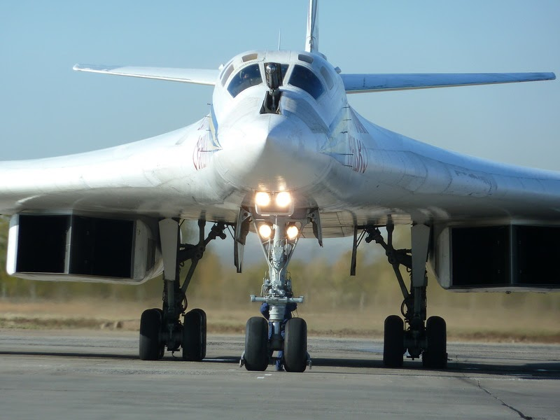 Russian Tupolev Tu 160 Blackjack Supersonic Strategic