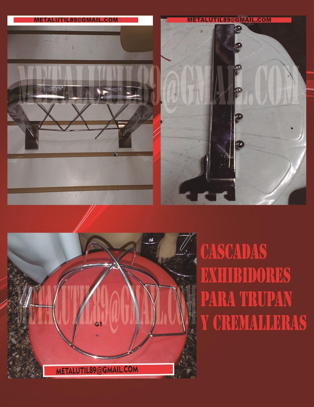 Colgadores exhibidores maniquies para todo tipo de tiendas for Porta ganchos de ropa