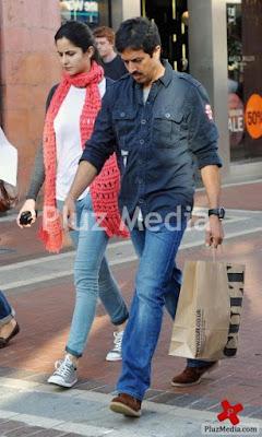 Katrina Kaif  - Katrina Kaif shopping in Dublin