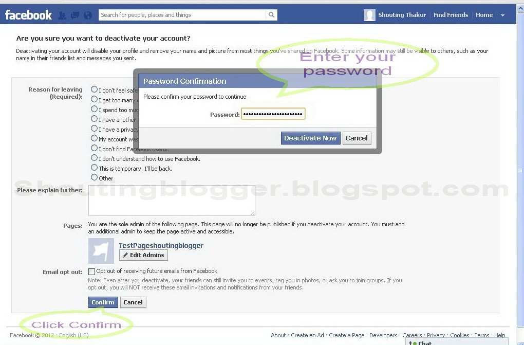 How To Delete Facebook Account - 135.2KB