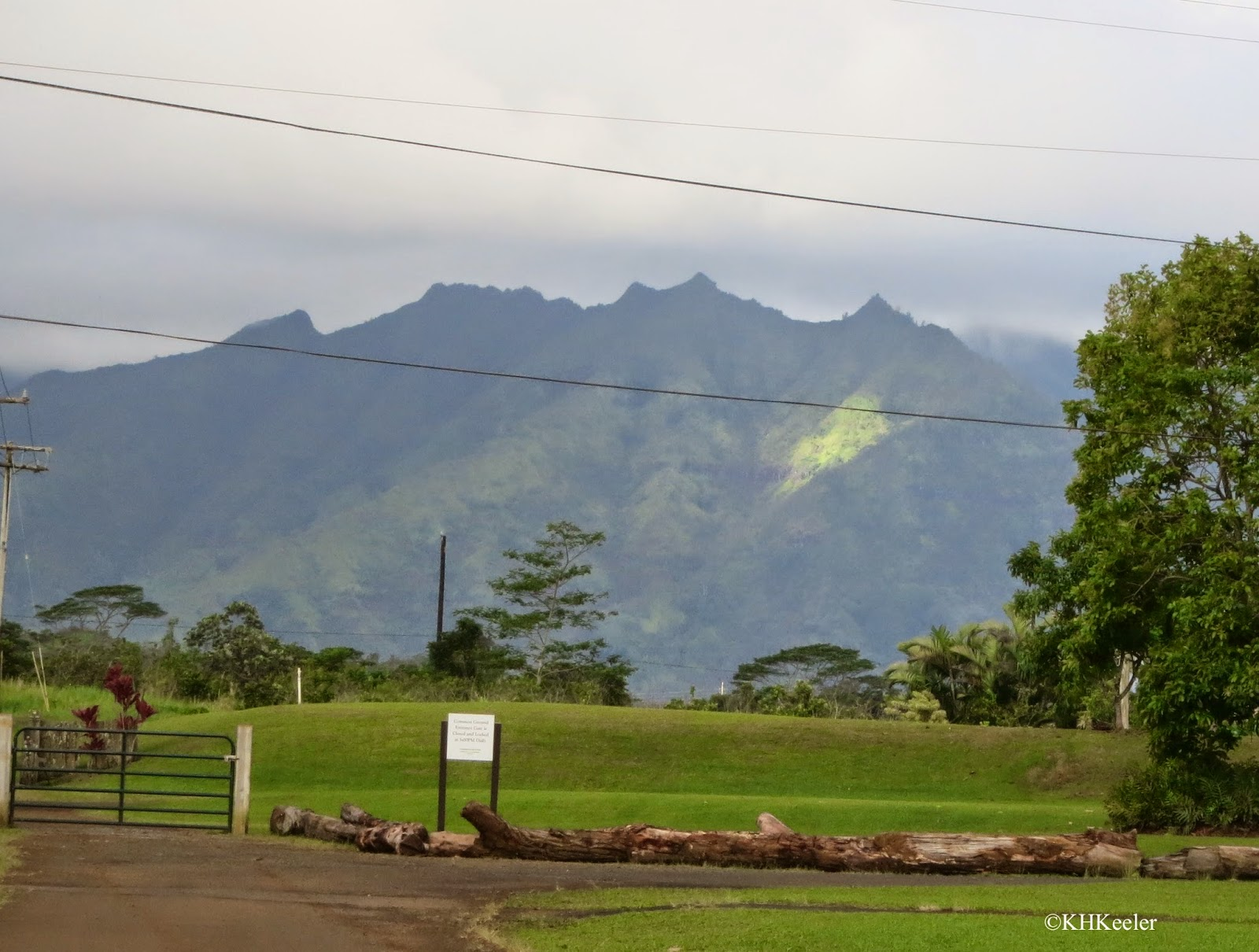 eroded hills of Kauai