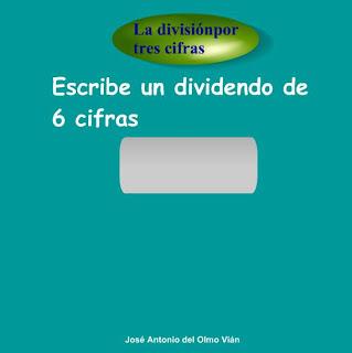DIVISIÓN POR TRES CIFRAS.