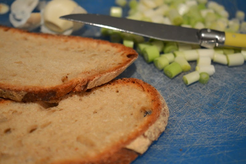 salade de brocoli oeuf mollet cro tons lorni te gave de gras. Black Bedroom Furniture Sets. Home Design Ideas