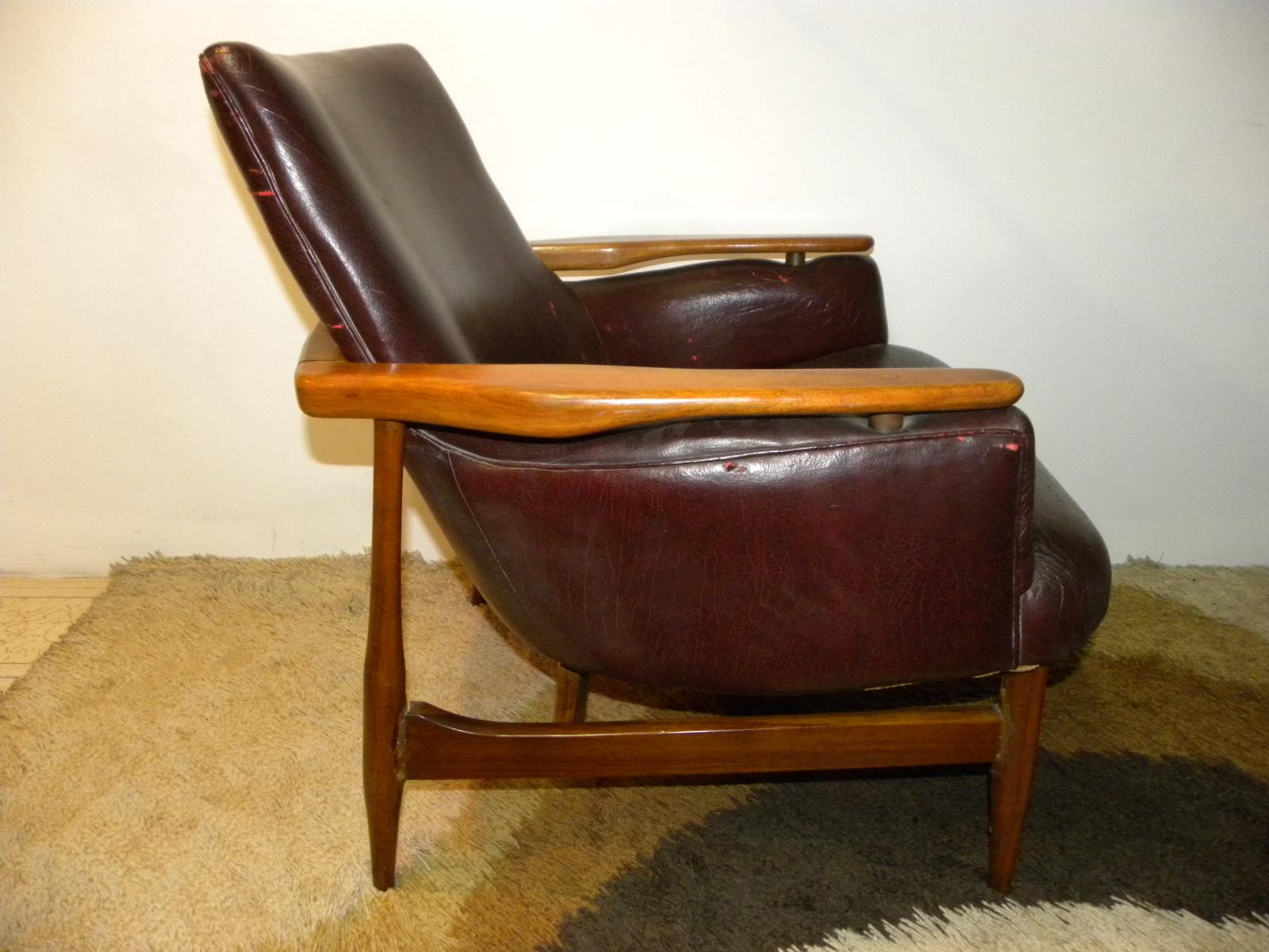 Deco retro vintage par de sillones escandinavos tipo - Sillones vintage retro ...