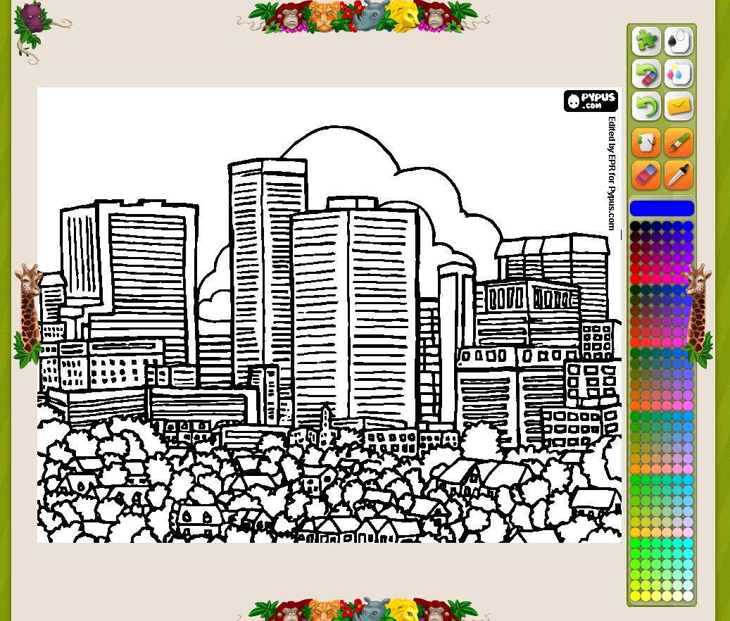http://www.colorearjunior.com/dibujos-para-colorear-de-ciudades-y-pueblos.html