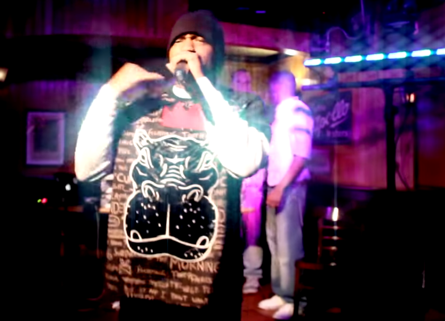 "Ryan B Hyeeze ""The Best Lie Ever"" Live Performance / www.hiphopondeck.com"