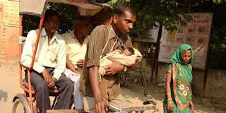 Kisah Tukang Becak dan Bayi Perempuannya