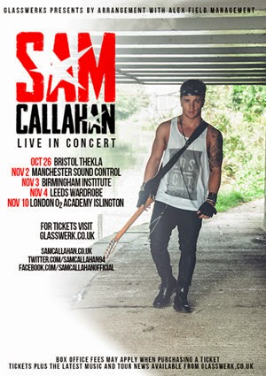 Sam Callahan Debut UK Tour