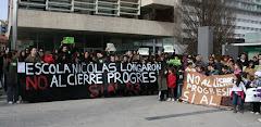 No al tancament de l'escola públicaNicolás Longarón