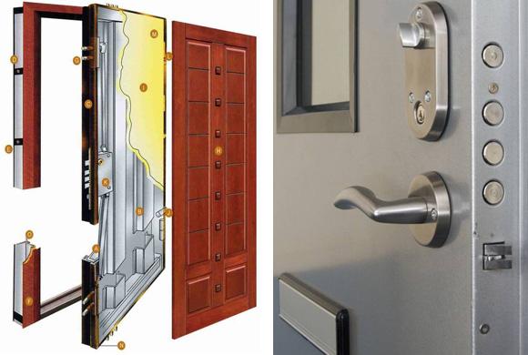Portas blindadas pre os os tr s melhores tipos de portas for Porta m
