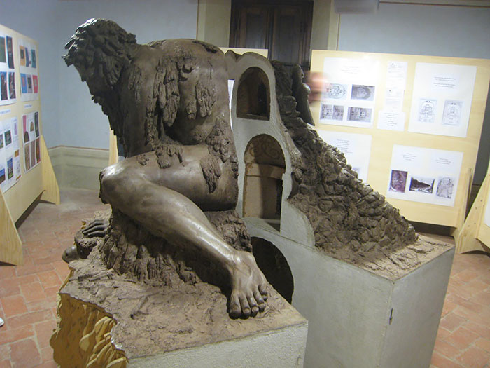 Massive 16th Century 'Colossus' Sculpture In Italy Has Entire Rooms Hidden Inside - THIS MODEL REVEALS THE ROOMS INSIDE OF THE COLOSSUS