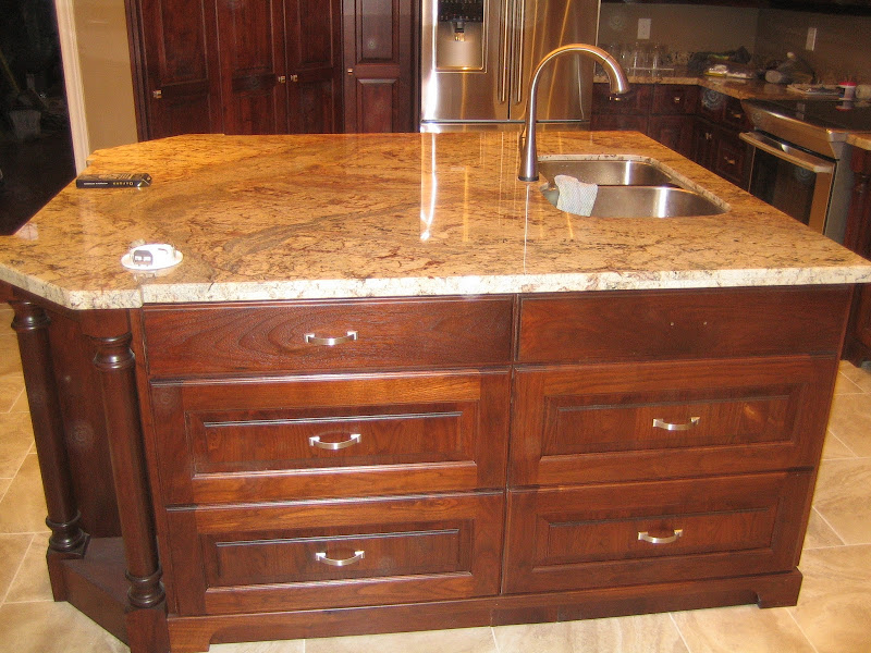 New Kitchen Reno, Walnut Cabinets by Irwin of Big Sound Woodworks of  title=