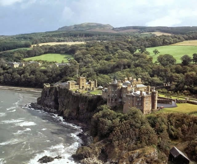 Culzean Castle - near Carrick, Ayrshire coast of Scotland