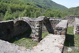 Remains of an old monastery (South-Western Serbia, Uvac)