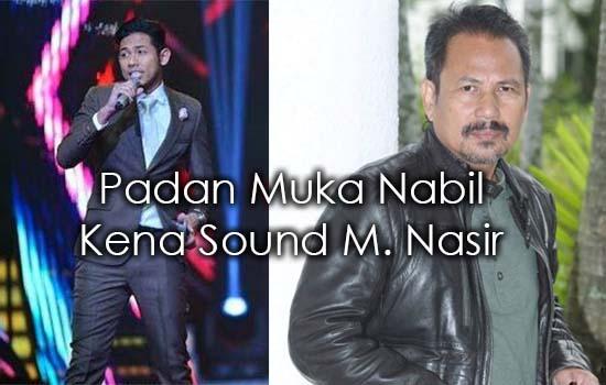 M. Nasir Sound Nabil Ahmad di Gegar Vaganza 2
