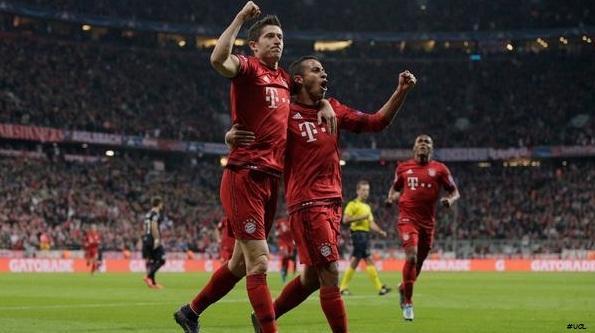 UCL: Bayern Munich Bantai Dinamo Zagreb 5 Gools, Lewan Dowski Hat-Trick Lagi!