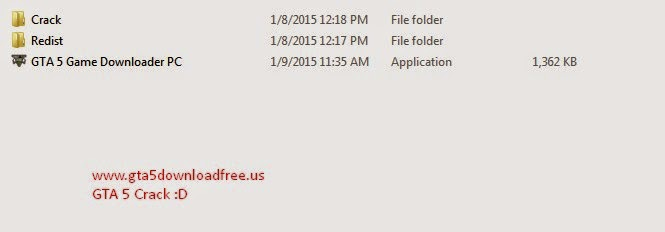 GTA 5 Crack Folders
