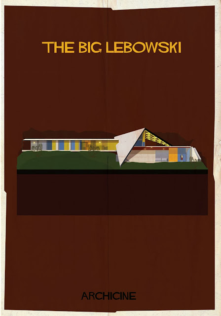 {Art} Architecture in film: Archicine by Frederico Babina | Rue du chat qui peche | The big Lebowski