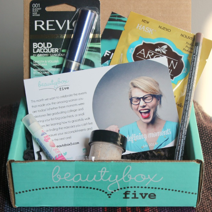 Beauty Box 5 - July 2014 Review & Unboxing