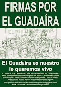 """Recogida de firmas """"Salvemos el Guadaíra""""."""