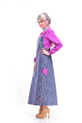 Model Gamis Overall Muslimah Nibras Murah