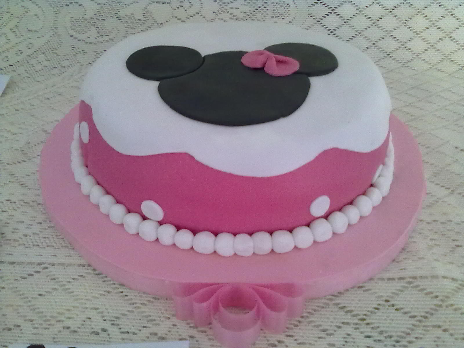 Baires Cupcakes: Torta minnie y cookies minnie y mickey