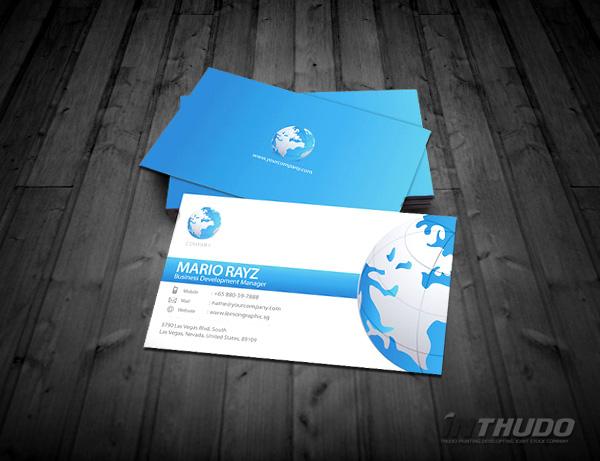 mẫu card visit cá nhân 1