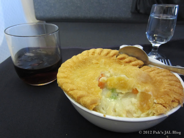 AA's American Classic dish - Chicken Pot Pie
