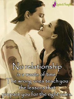 no relationship is waste of time
