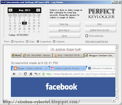 Free Download Perfect Keylogger v1.7 + Serial Number