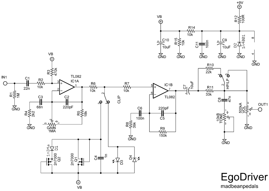 Ocd Pedal Schematic - Wiring Circuit • on mxr dyna comp schematic, technical drawing, diy tremolo pedal, fender tremolo schematic, diy pedal power supply, block diagram, diy pedal box, diy reverb pedal, npn schematic, circuit diagram, guitar delay schematic, phaser schematic, buffer boost guitar schematic, functional flow block diagram, tube map, one-line diagram, tone control schematic, piping and instrumentation diagram,