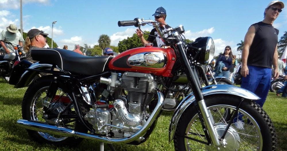 Royal Enfield Motorcycles: Photos of 2014 Dania Beach ...