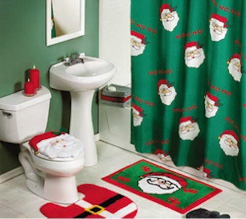 Baños Decorados Navidenos:Decorar un baño en Navidad – Colores en Casa