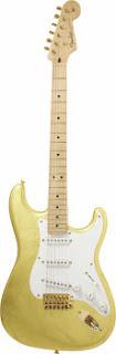 Eric Clapton Stratocaster rara metal Leaf Stratocaster