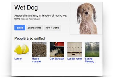 Google April Joke Google Nose Beta