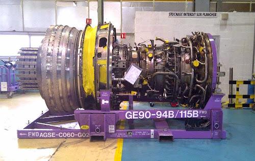 Maior motor a jato do mundo