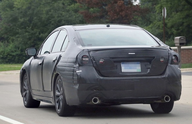 2015 Subaru Legacy , the sixth bearing will reportedly acknowledgment