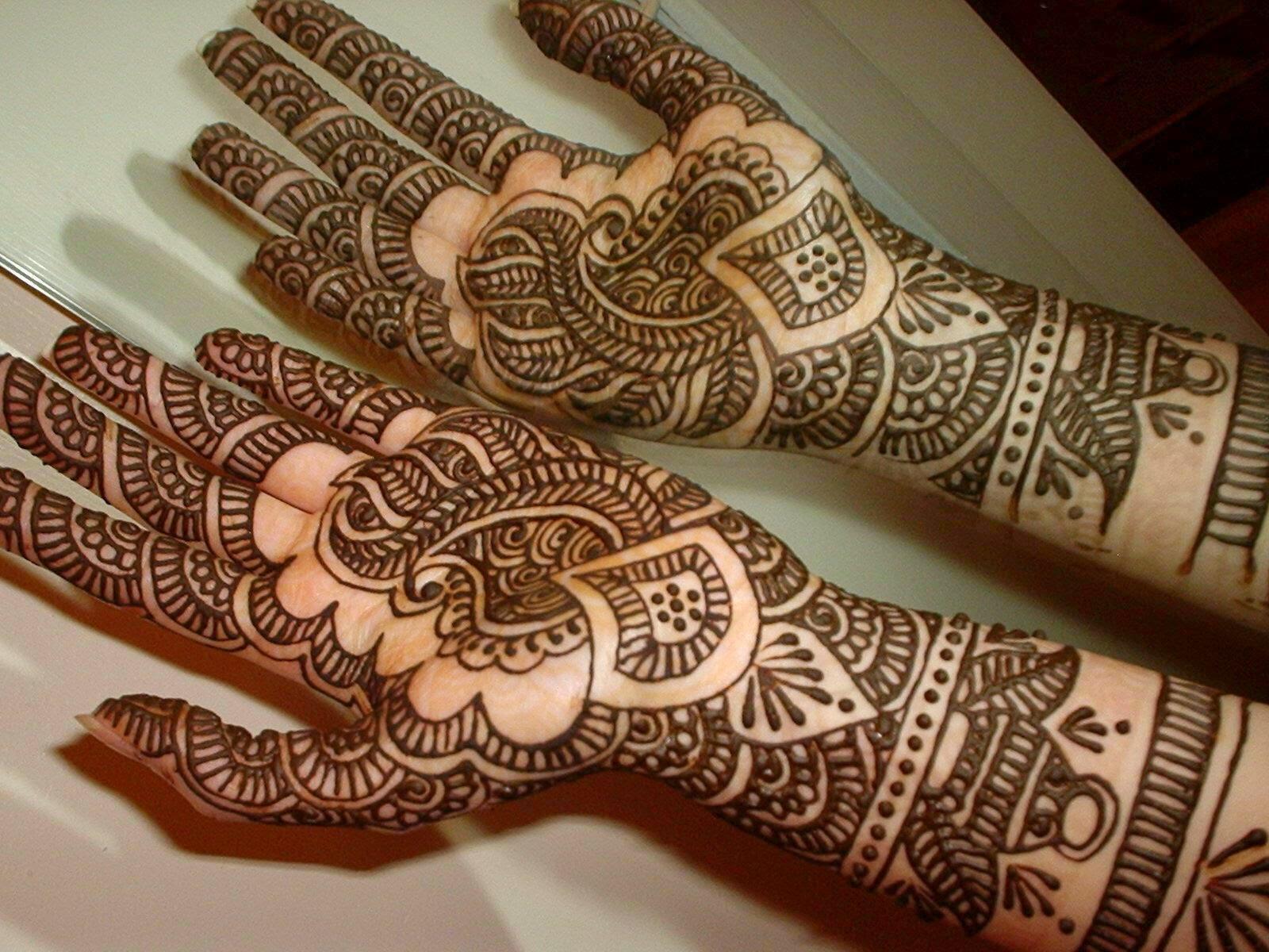Agencia De Viajes India El Henna Arte Para Embellecer Manos Y Pies