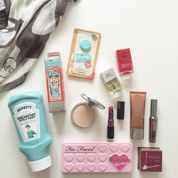 Benefit Breakfast with a Twist Ketchup Bottle