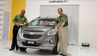 Chevrolet Spin Spesifikasi dan Harga