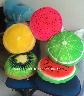 bantal buah buahan
