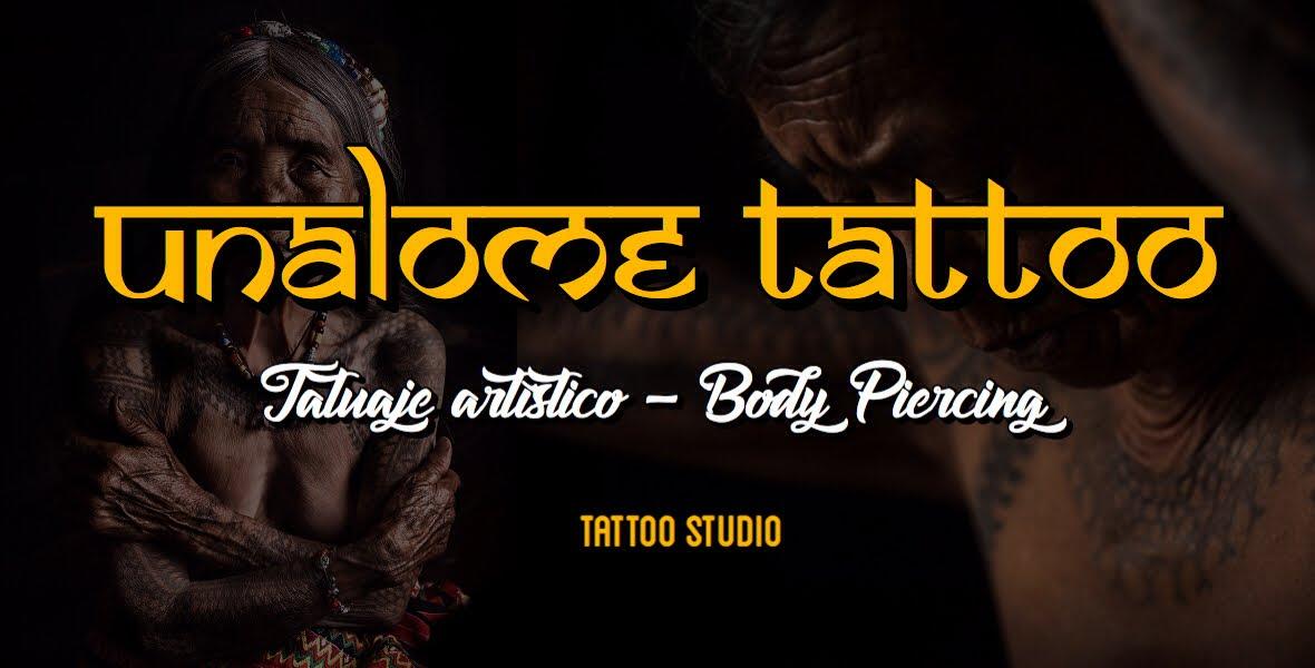 Tatuajes Albacete - unalome tattoo