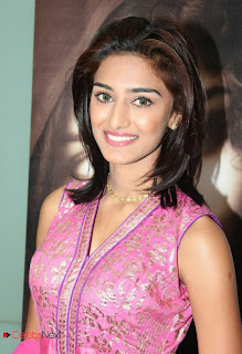 Erica Fernandes Pictures in Pink Salwar Kameez at 555 Audio Launch  0004.jpg