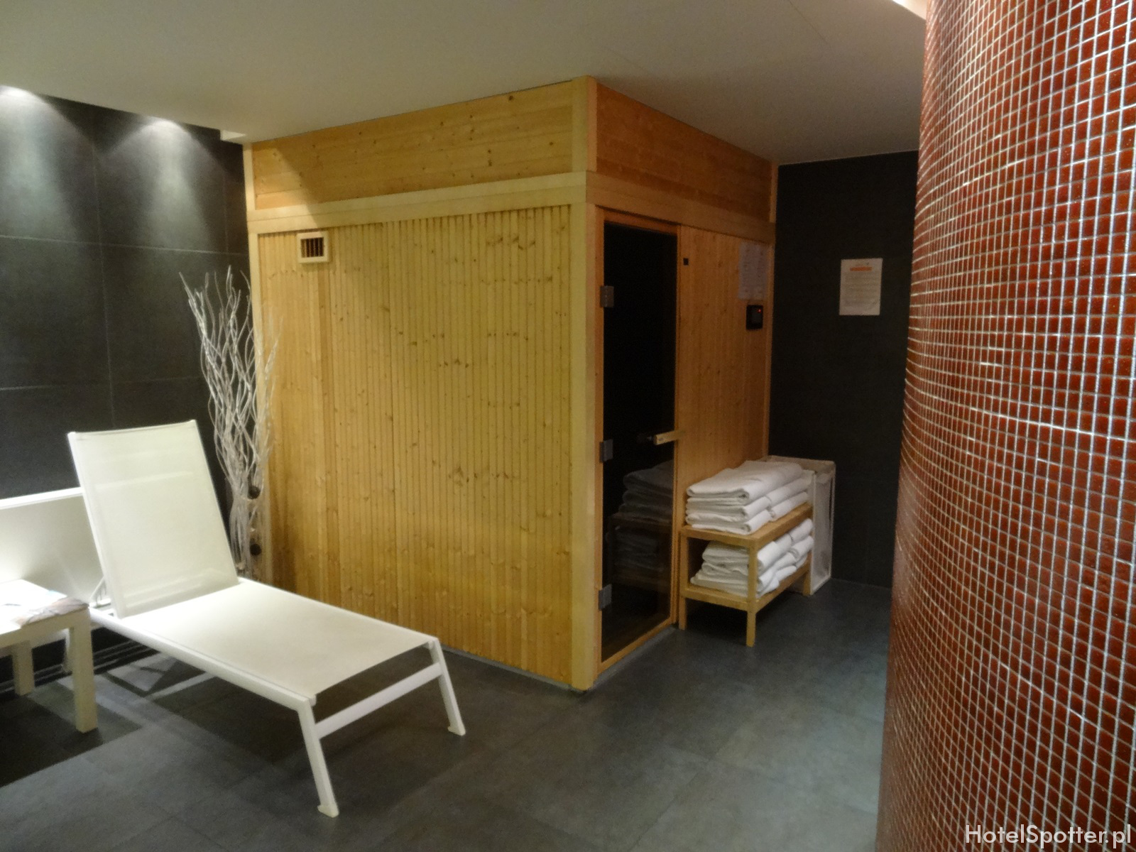 angelo Hotel Katowice - sauna sucha