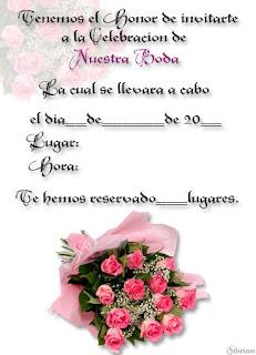 Invitaciones Para Bodas Postales Para Boda Tarjetas De Invitacion Para