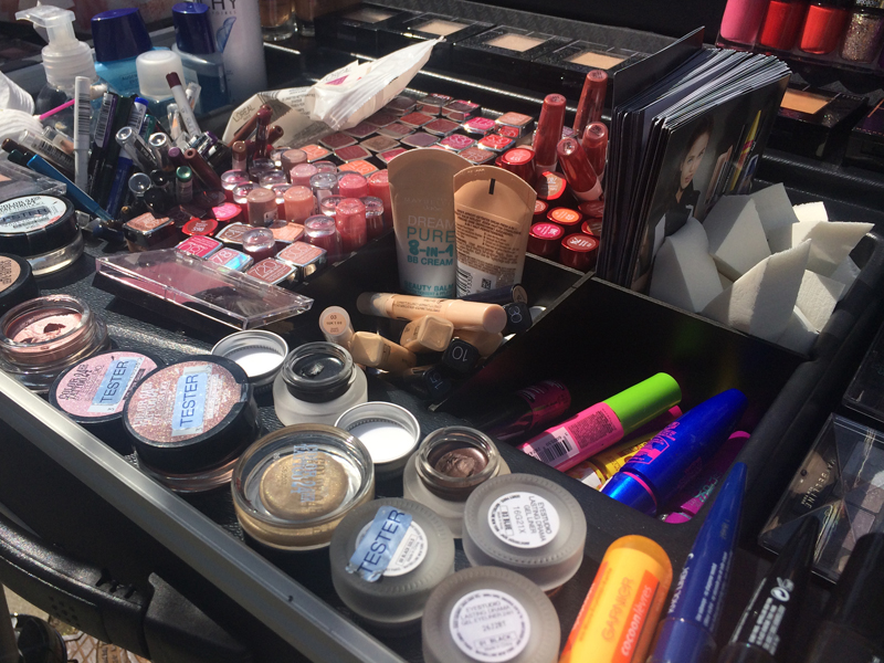 """City Secrets"" Beauty-Event von Maybelline in der Hafencity"
