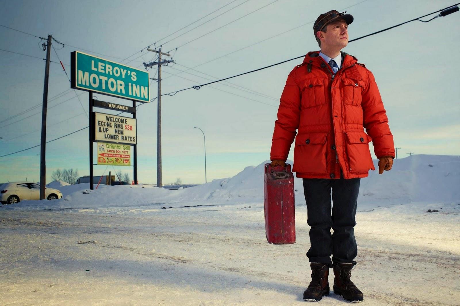 Martin Freeman es Lester Nygaard, uno de los protagonistas de la serie